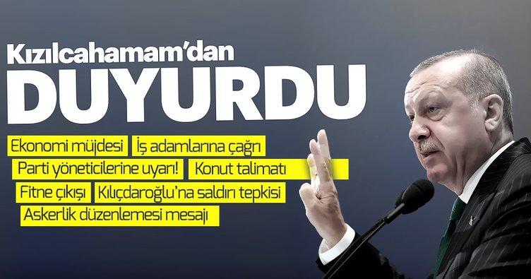 Başkan Erdoğan'dan parti yöneticilerine, muhalefete, seçmene mesaj: Gönüller kazanalım. Ya olacağız ya öleceğiz