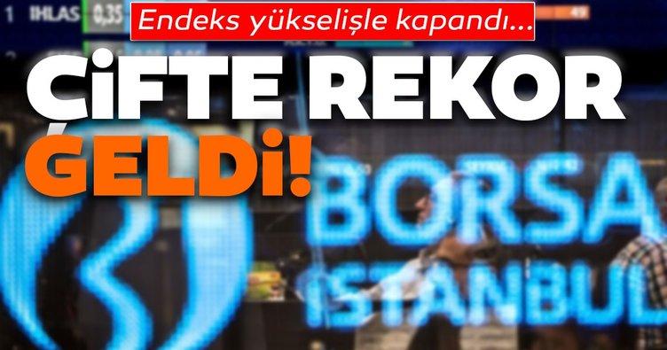 Borsa İstanbul çifte rekorla kapandı
