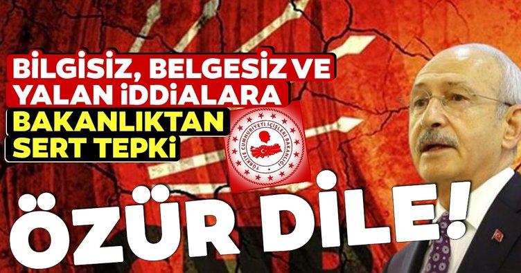 Kılıçdaroğlu'nun derneklerle ilgili iddialarına sert tepki: Özür dile