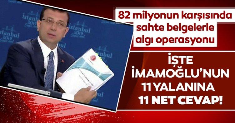 Sayıştay, İmamoğlu'nun İBB'yle ilgili yalanlarını 11 maddeyle çürüttü
