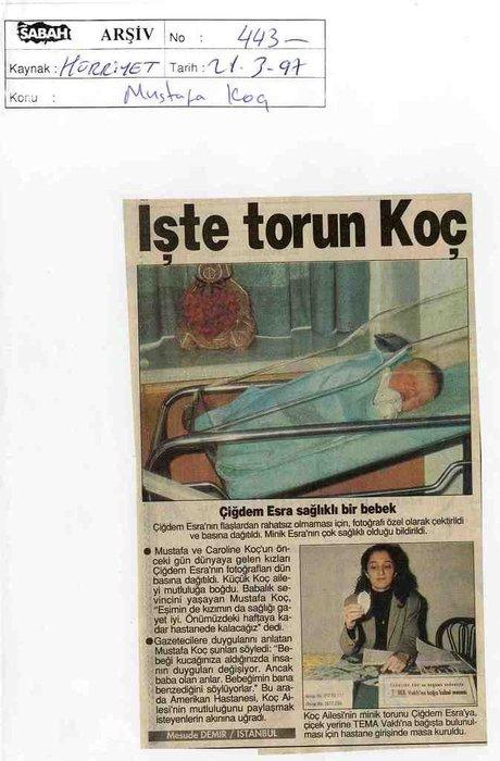 Haberlerle Mustafa Koç'un hayatı...