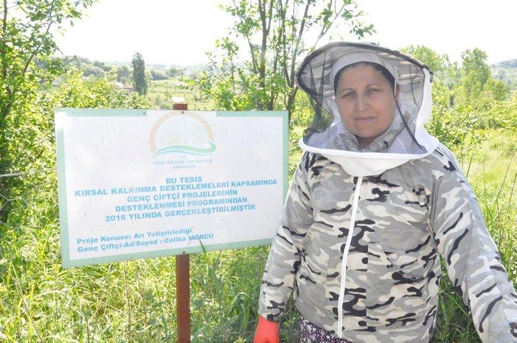 Kadın girişimci 'arı sütü' siparişlerine yetişemiyor