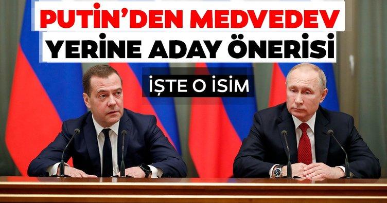 Son dakika: Putin Medvedev'in yerine başbakan adayını önerdi