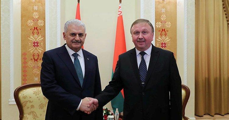 Başbakan Yıldırım Belarus'ta konuştu: Önemli kararlar aldık