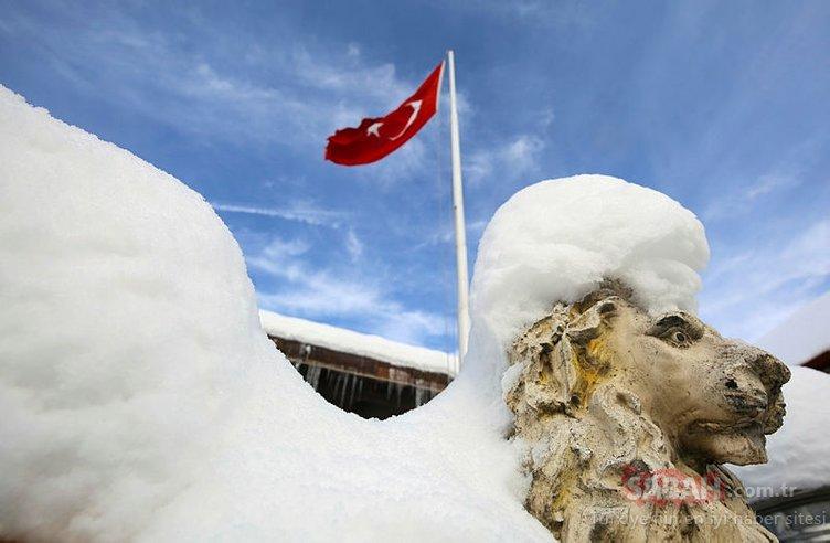 Bolu, bu gece Türkiye'nin en soğuk ili oldu