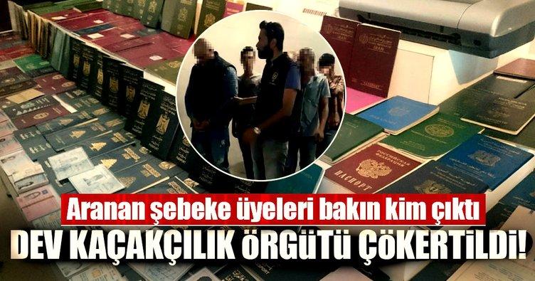 İstanbul'da uluslararası kaçakçılık şebekesi çökertildi