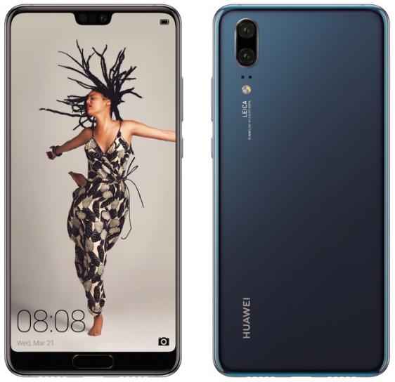 Huawei P20, P20 Pro ve P20 Lite basın görselleri