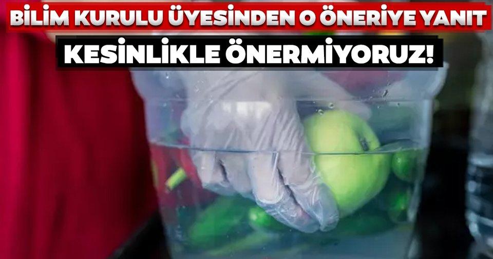 Bilim Kurulu Üyesi Seçil Özkan'dan o öneriye yanıt: Kesinlikle önermiyoruz...