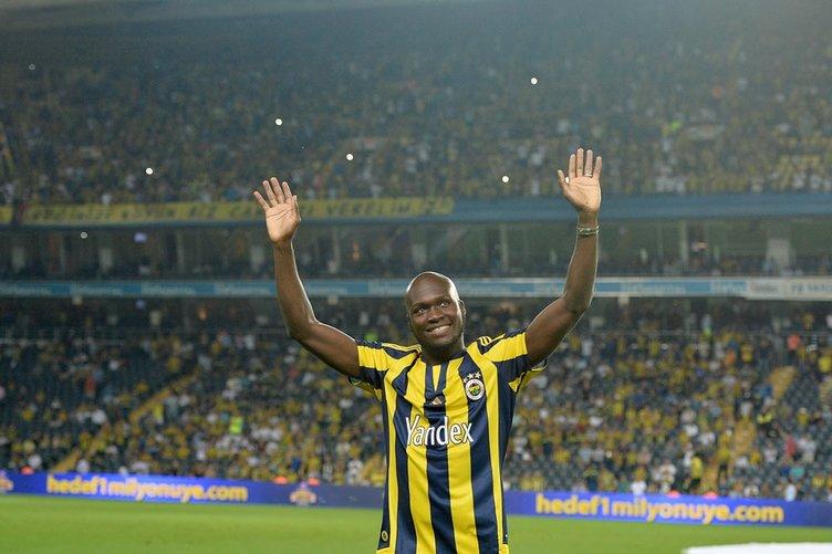 Moussa Sow Fenerbahçe'ye böyle veda etti