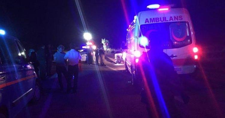Hatay'da bir motosikletteki 4 kişi hayatını kaybetti