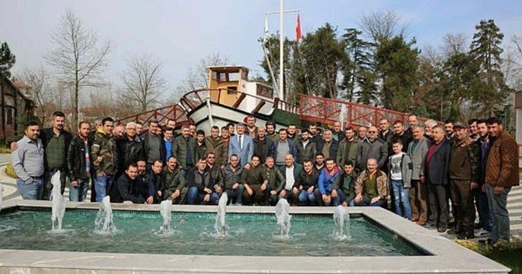 Başkan, Avcılar derneği üyeleri ile bir araya geldi