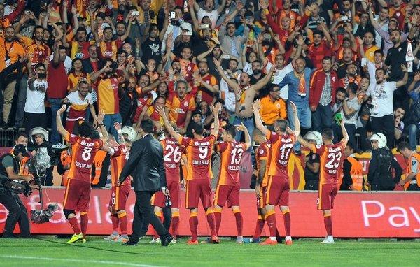 Galatasaray - Bursaspor Türkiye Kupası finalinden kareler