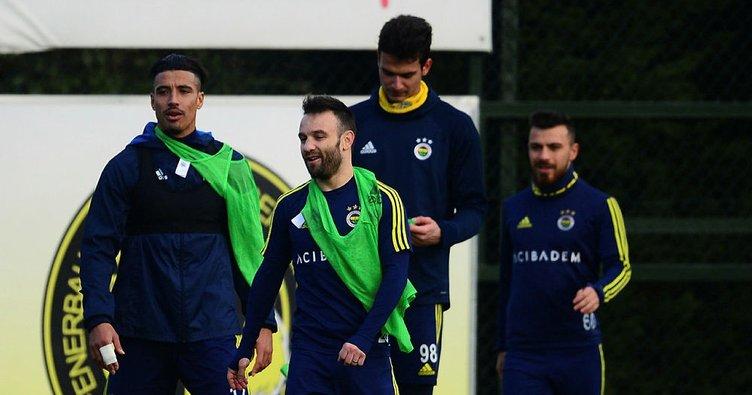 Fenerbahçe'de Galatasaray derbisi hazırlıkları başladı