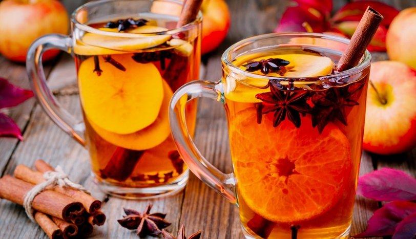 Portakallı ve baharatlı çay