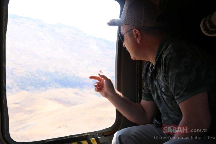 Terörden temizlenen dağlarda petrol aranıyor