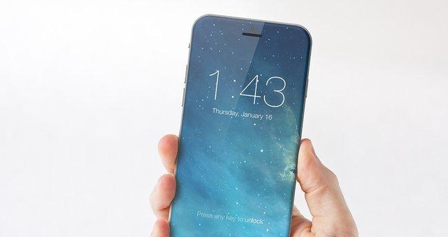 iPhone'lar da modaya uyuyor: 5.5 inçlik iPhone 8 kavisli olacak!