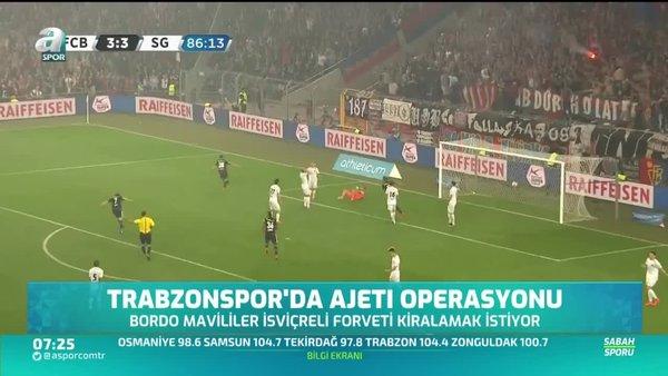 Trabzonspor'da Ajeti operasyonu