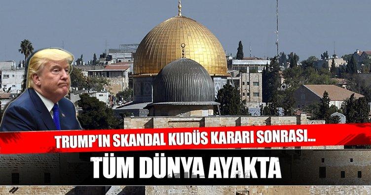 Müslümanlar Kudüs için ayakta!