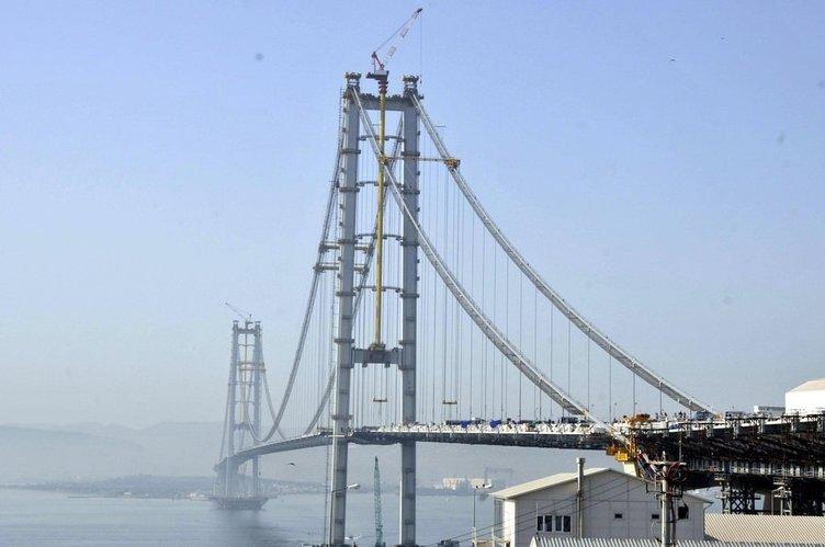 Dev köprüde son 340 metre!