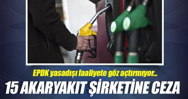 EPDK 15 şirkete 4,9 milyon lira ceza kesti