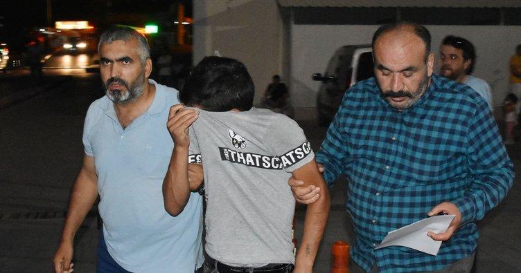 İki çocuğu bıçak zoruyla gasp ettiği iddiasıyla gözaltına alındı