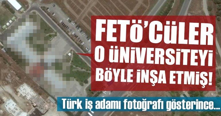 "FETÖ'cüler üniversiteyi ""F"" olarak inşa etmiş!"