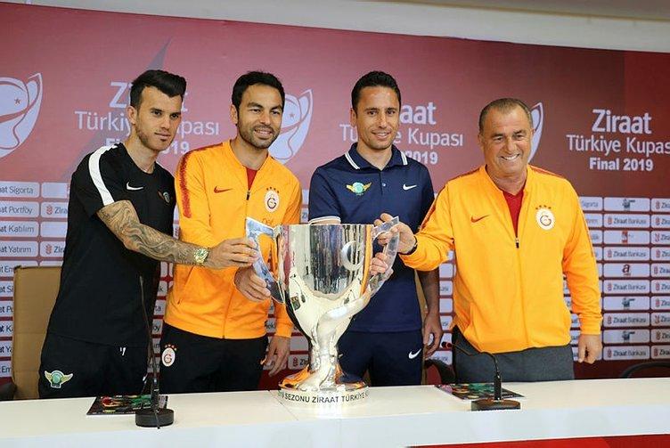 Ziraat Türkiye Kupası'nda final zamanı: Galatasaray - Akhisarspor, muhtemel 11'ler