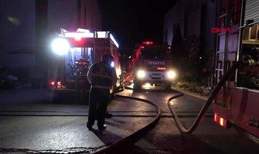Son Dakika: Kocaeli'de geri dönüşüm tesisinde yangın