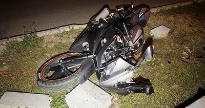 Motosikletiyle kaza yapan genç hayatını kaybetti