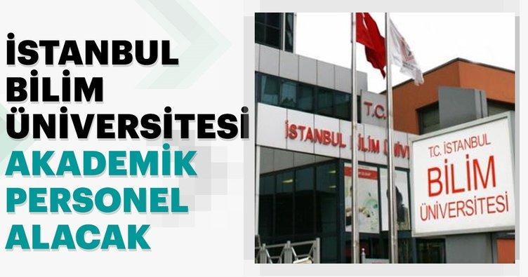 İstanbul Bilim Üniversitesi 12 Akademik Personel alıyor