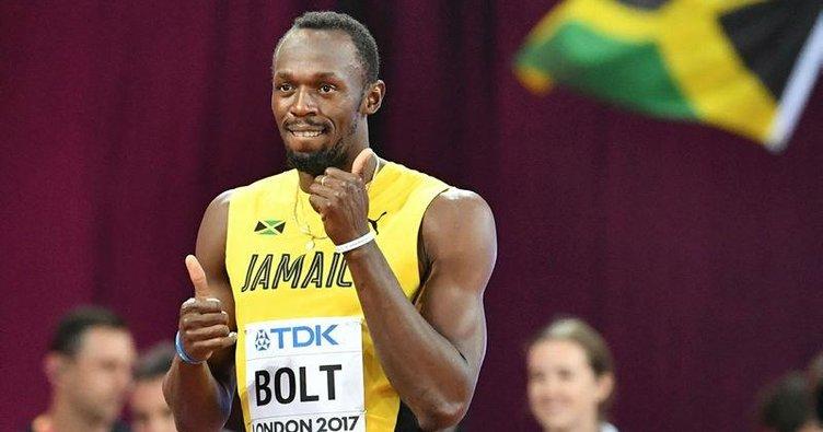 Bizim atletler Usain Bolt'a rakip