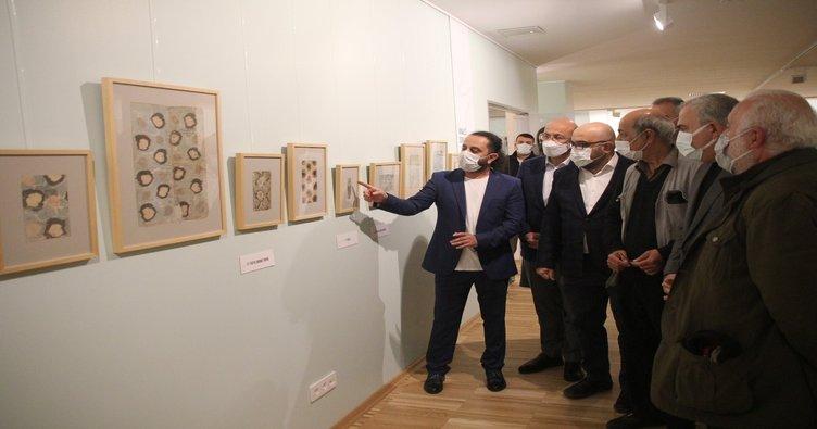 Kadırga Sanat Galerisi açıldı! Ebru Sanatının son 500 yılı sergilenmeye başladı