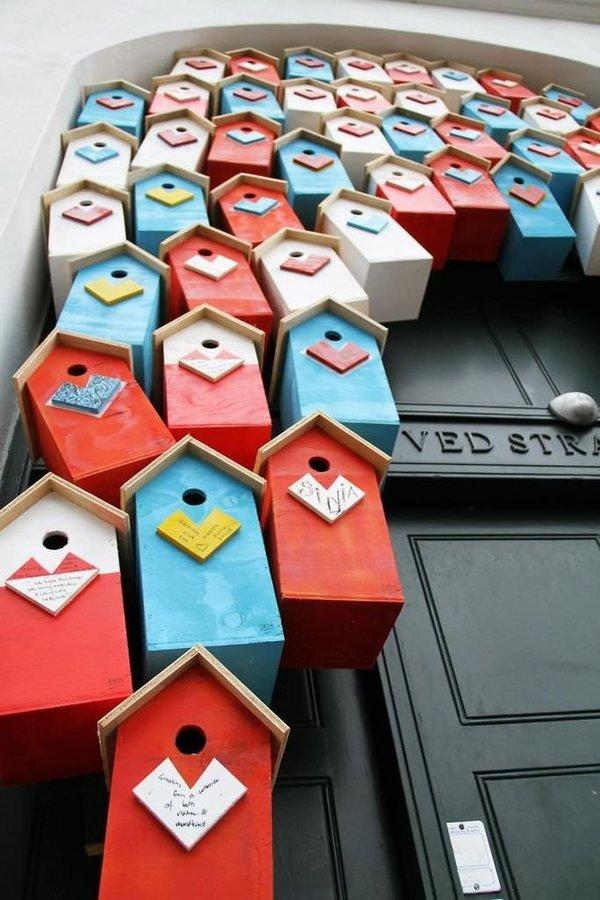 Şehirleri Terketmesinler Diye Kuşlar İçin 3.500 Tane Ev Yapan Adam