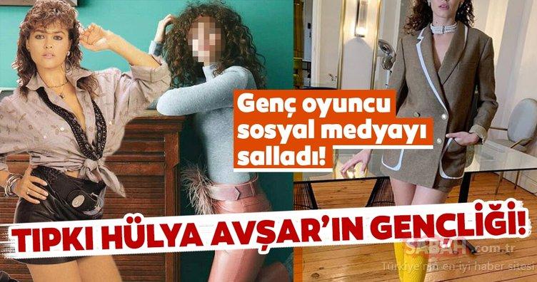Hülya Avşar'ın gençliğine benzetilen Melisa Şenolsun cesur halleri ile çok konuşuldu... İşte Melisa Şenolsun'un olay yaratan görüntüsü...