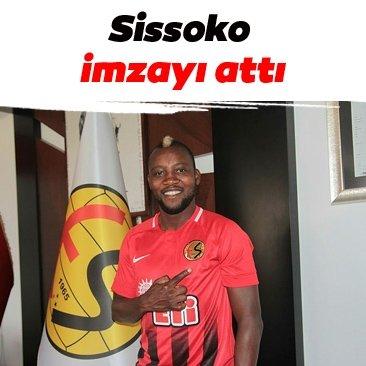 Eskişehirspor'da Sissoko imzayı attı