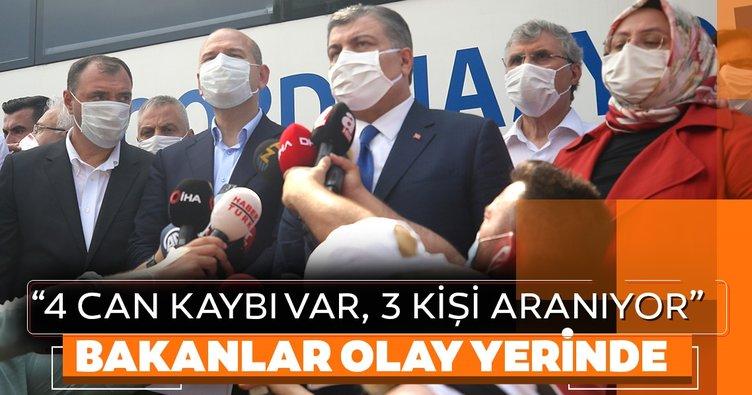 Sakarya Hendek'te havai fişek fabrikasında patlama: 4 can kaybı... 3 Bakan'dan flaş açıklama
