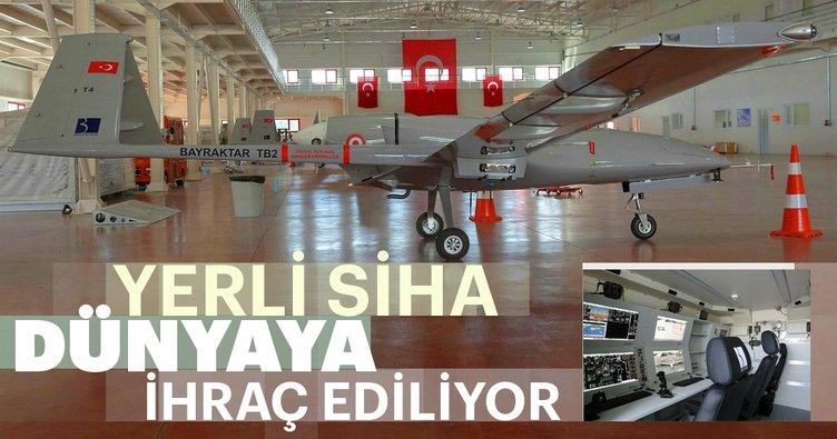 Türk SİHA'ları ile ihracat başarısı