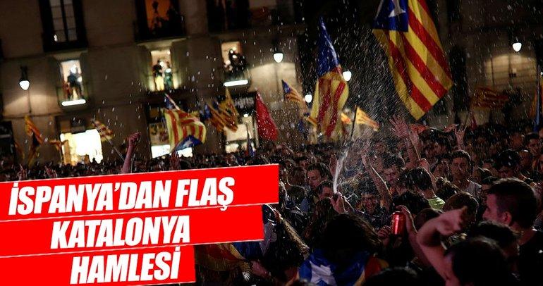 İspanya Katalonya yönetimini görevden aldı