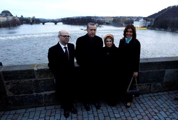 Başbakan Recep Tayyip Erdoğan Prag'ı ziyaret etti