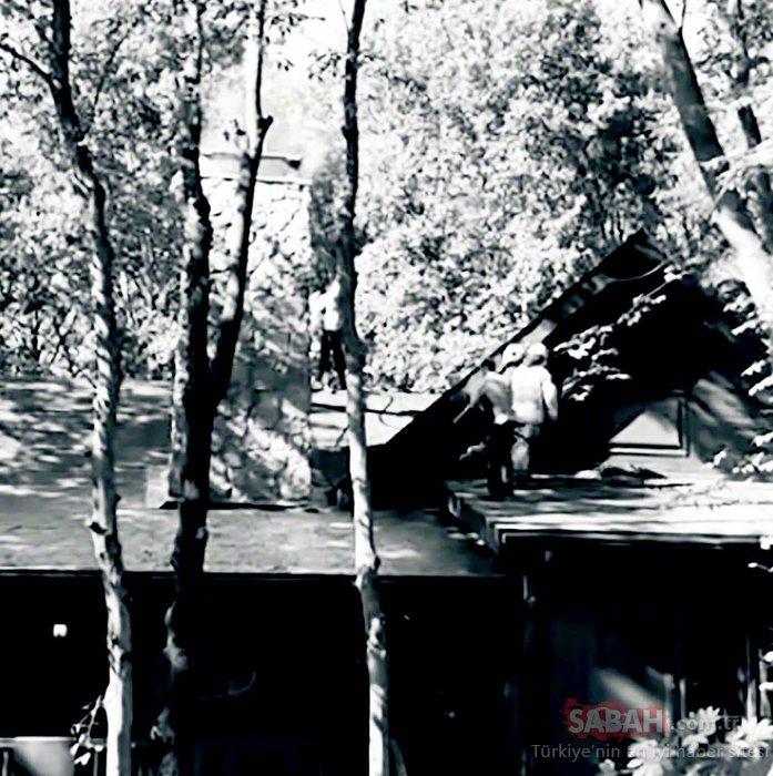 Eser Yenenler ile Berfu Yenenler'in evinde korku dolu üç saat! Eser Yenenler pandemide ailesine orman içinde ev tutmuştu...