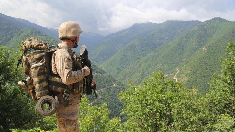 Teröristlerin korkulu rüyası jandarmanın keskin nişancıları