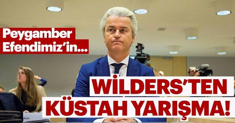 İslam düşmanı Wilders'tan küstah yarışma!