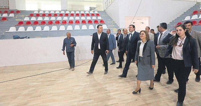Gaziantep'e yeni bir spor salonu