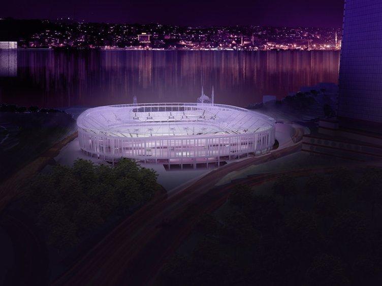 İşte Yeni İnönü Stadı