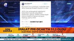 Son dakika: Bakan Berat Albayrak'tan ekonomik büyüme mesajı | Video