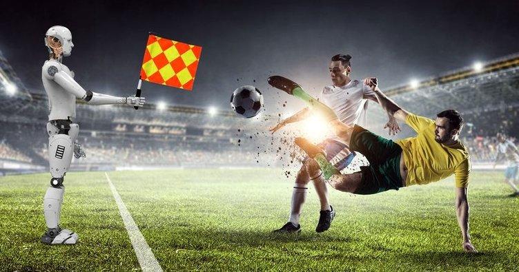 Robot hakem, robot futbolcu, teknolojik formalar!