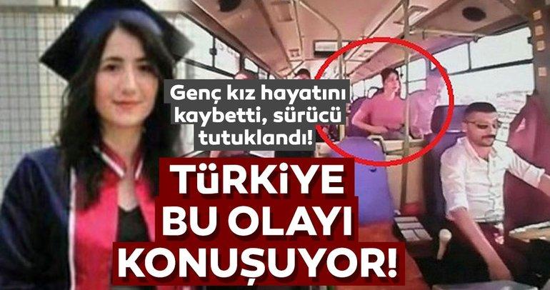 Son dakika: Türkiye bu olayı konuşuyor! Genç kız, hareket halindeki minibüsten düşüp öldü!