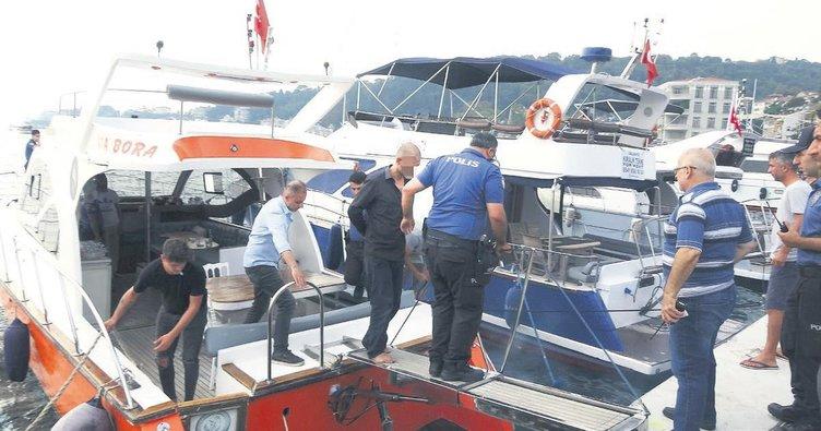 Teknede üvey kardeş cinayeti