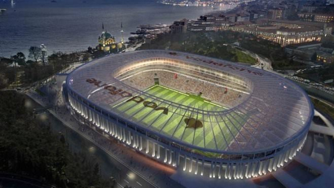 Vodafone Arena'da tehlike