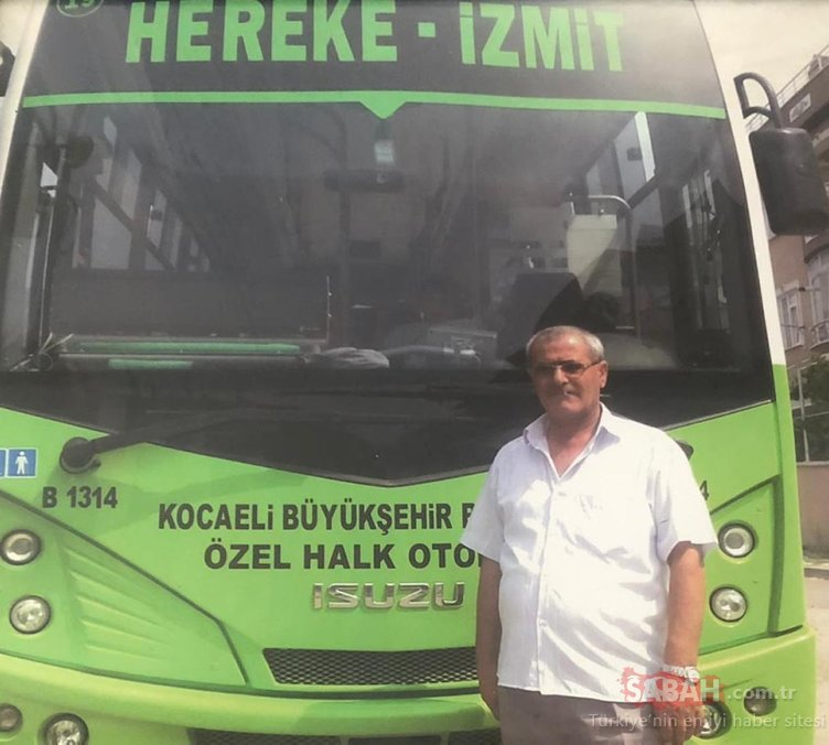 Halk otobüsü şoförü direksiyon başında kalp krizi geçirdi, faciayı bekçi önledi